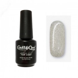 3.Silver Veil Glitter Gel (HEMA FREE)